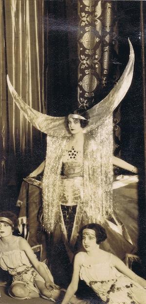 A costume by 'Gene' seen at the Tivoli Theatre, Washington DC 1924