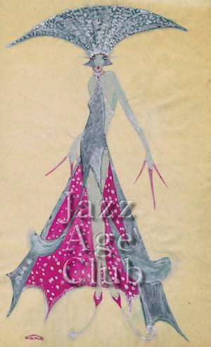A costume design by 'Gene' 1920s