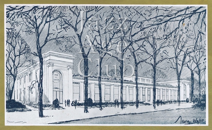 The faced of the new Ambassadeur's in Paris, 1930