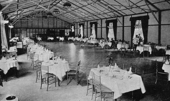 An interior view of the restaurant and ballroom at Murray's River Club, Maidenhead