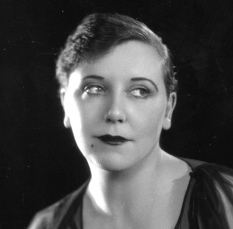 Dolly Tree in June 1926 with slicked-back hair