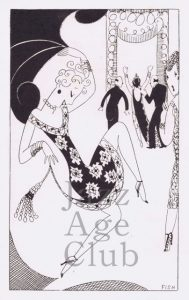 A 'society' sketch by 'Fish' 1920s