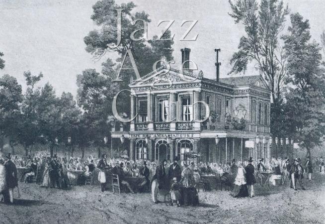 The Cafe des Ambassadeurs in Paris, 1848