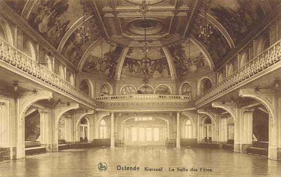 The Salle de Fetes in the Kursaal, Ostend