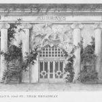 The facade of Murray's Roman Gardens, New York