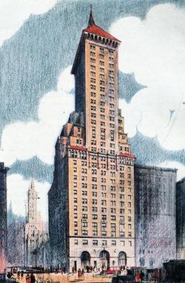 Delmonico's Hotel, New York, 1929