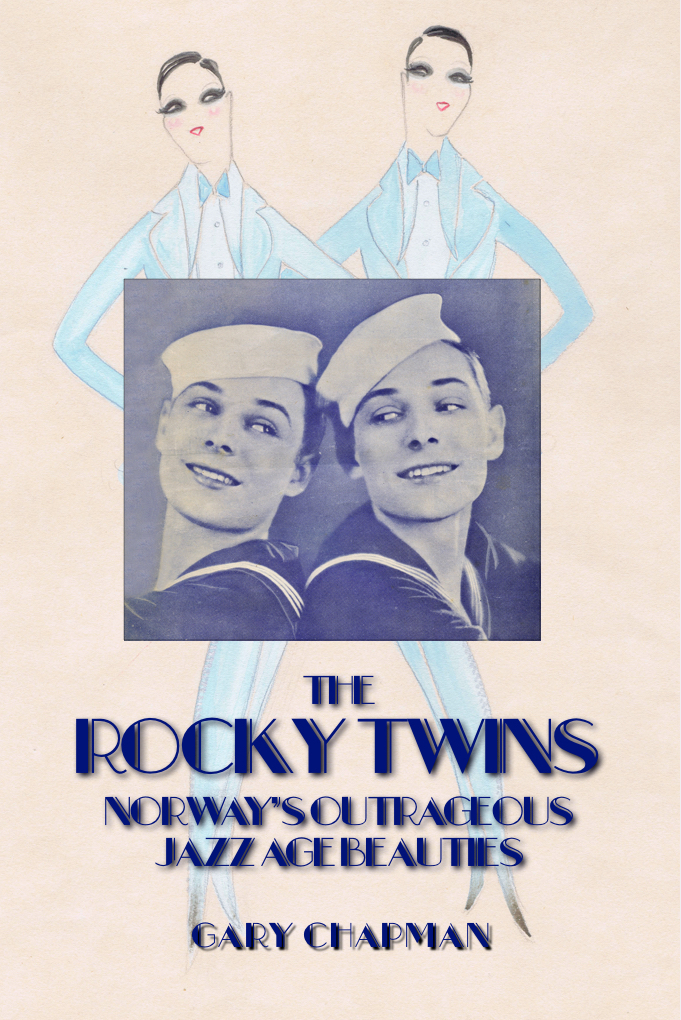 The cover of The Rocky Twins biography