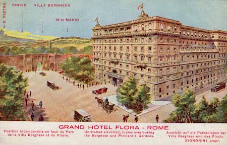Grand Hotel Flora, Rome
