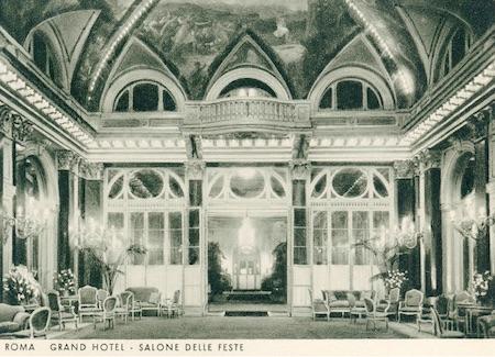 Salone Delle Feste, Grand Hotel, Rome