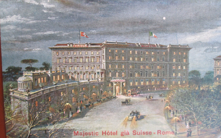 Hotel Majestic, Rome
