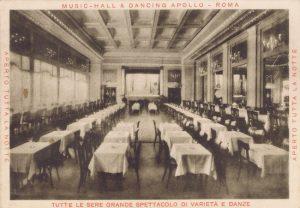 The interior of the Apollo Music Hall, Rome, 1920s