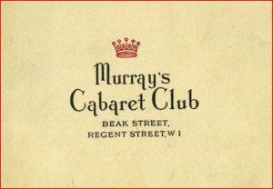 Logo from Murray's Cabaret Club, London