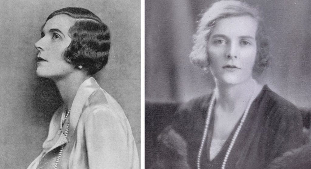Two portraits of Lady Edwina Mountbatten
