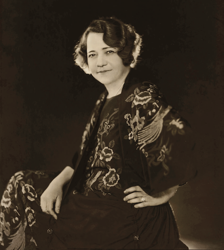 A portrait of Renee Harris by James Abbe, New York, 1923