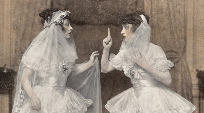 The Dolly Sisters in His Bridal Night, New York