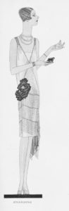 A Buckmaster gown from Eve Magazine in March 1927
