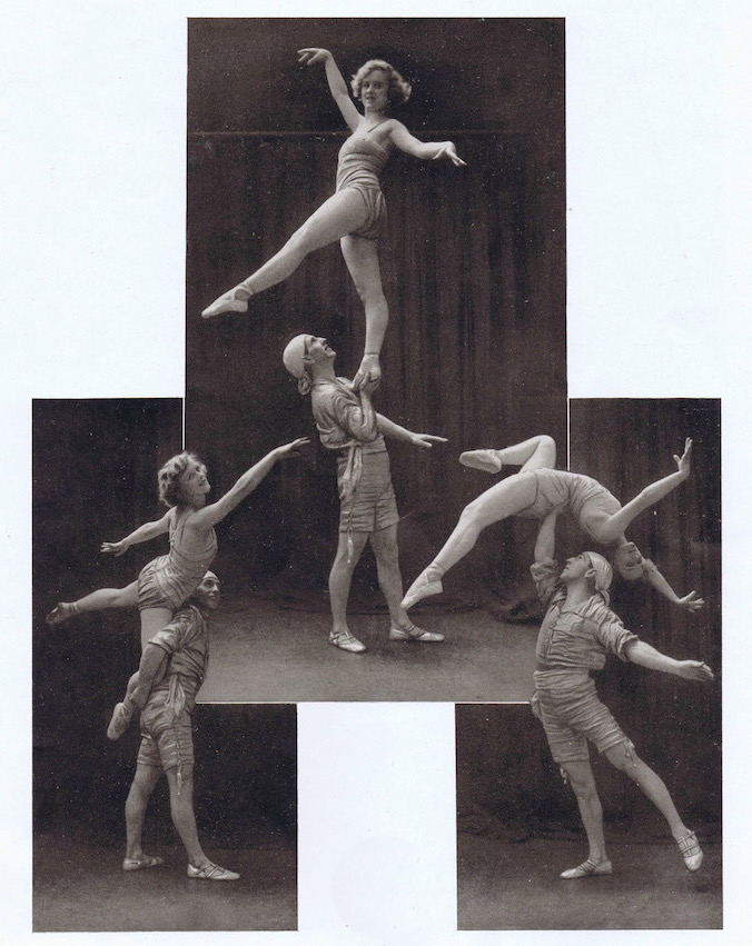 A portrait of the dancers Gaston and Andree, 1920s