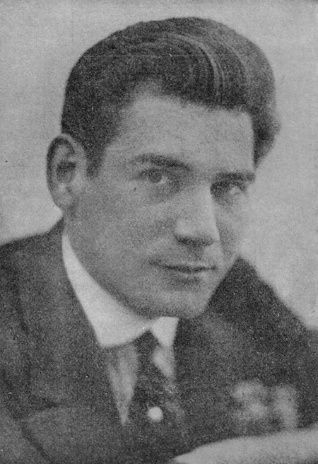 A portrait of the American performer and producer Harry Pilcer, 1920s