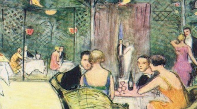The Blue Lagoon Club, London, 1926