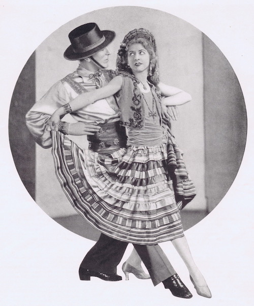 The American dancing team of Cortez and Peggy, 1920s