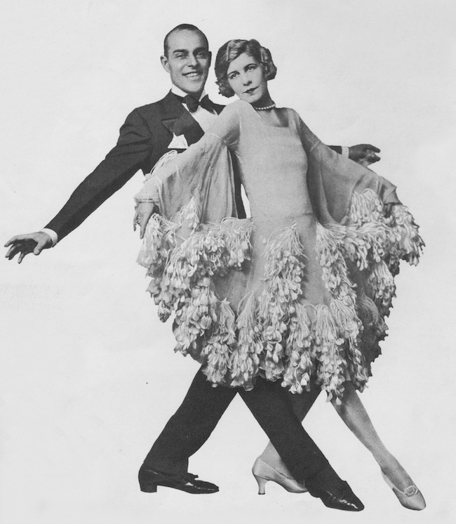 The American dancing team of Maurice Mouvet and Eleanora Ambrose, 1920s