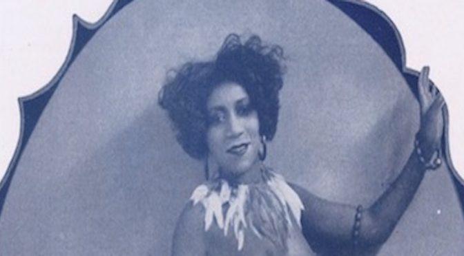 Marie Woods in La Revue Negre, Paris, 1925