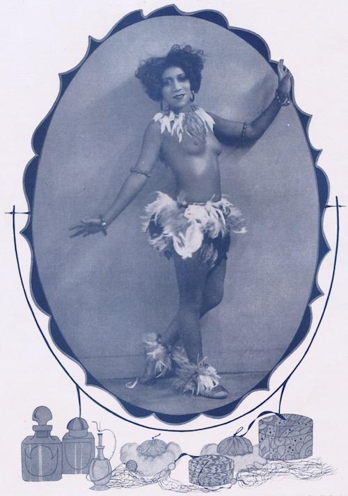 Marie Woods, Revue Negre, Paris, 1926