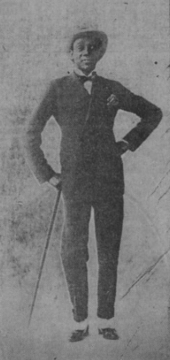 A portrait of of Fernando 'Sonny' Jones, Paris, mid-1920s