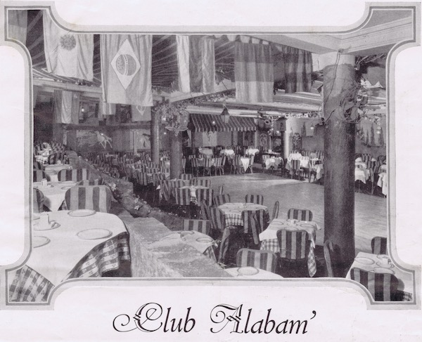 An interior image of the Club Alabam in New York, 1926
