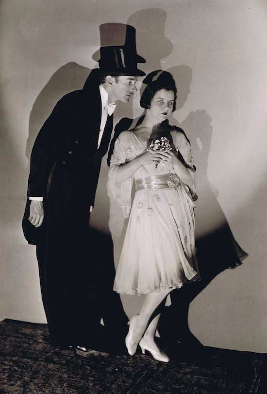 A portrait of the American dancers Clifton Webb and Mary Hay, 1920s