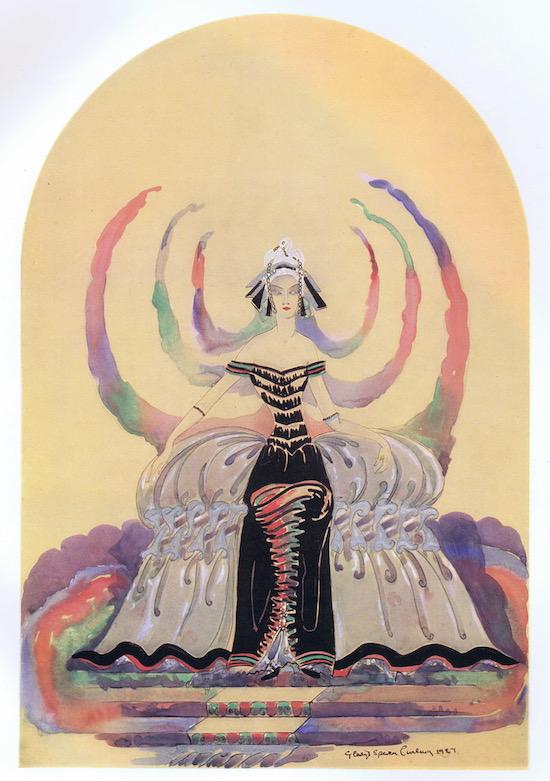 Artwork entitled 'Spirit of the Restoration' by Gladys Spencer Curling, 1927
