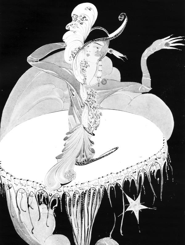 Artwork entitled 'Star' by Gladys Spencer Curling, 1927