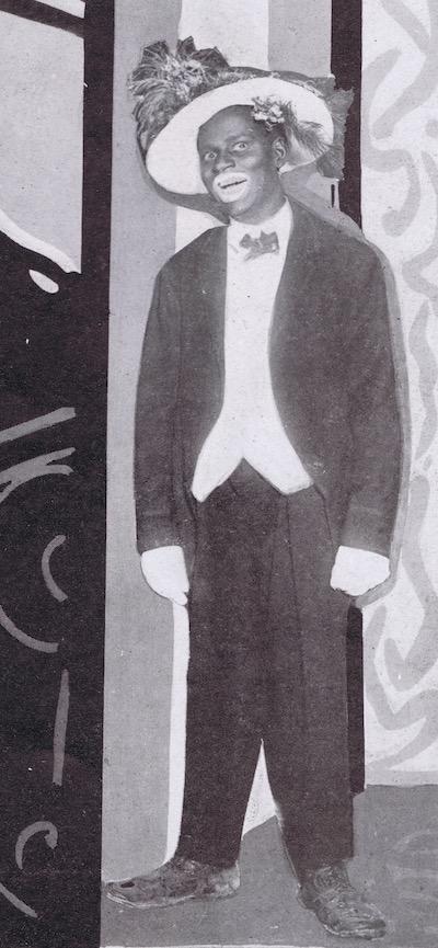 A portrait of Johny Hudgins, 1920s