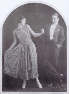 The exhibition dancers Babette and Graham, 1920s