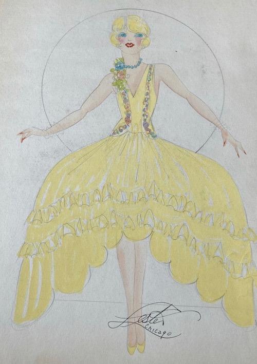 A costume design by Lester Ltd