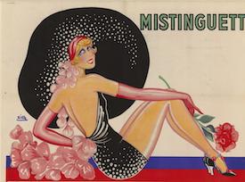 Artwork by Zig for Mistinguett, 1920s