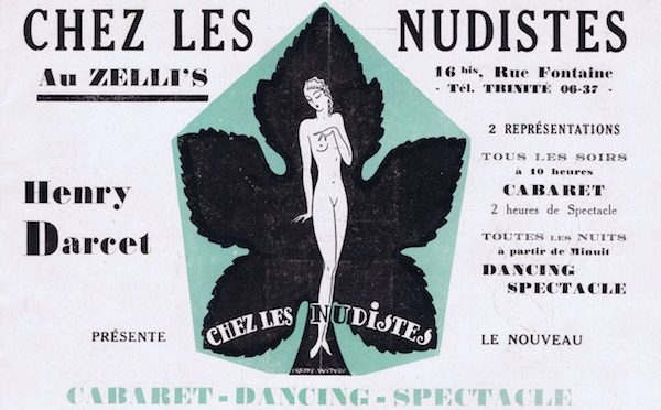 Chez des Nudistes